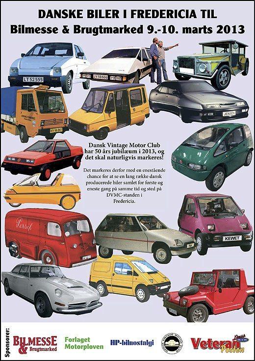 Danske biler på messen