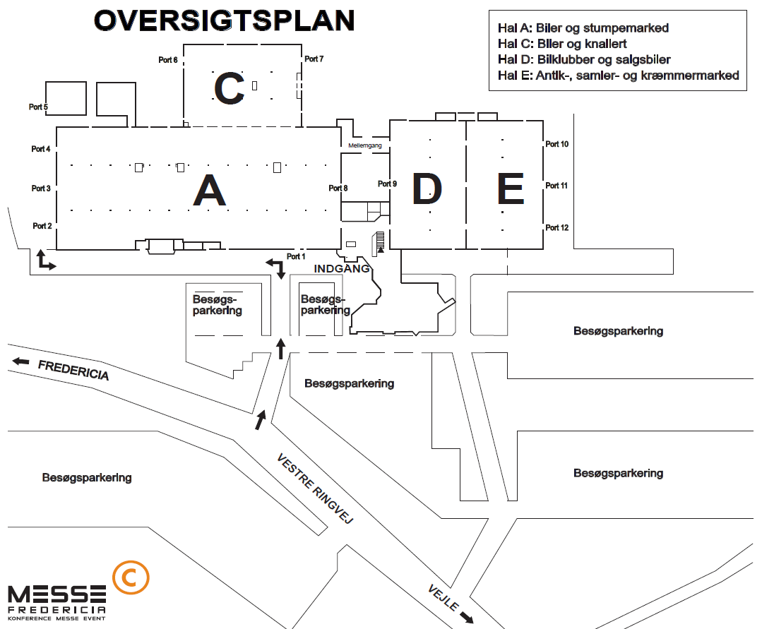 Bilmesse & Brugtmarked Messe Oversigt